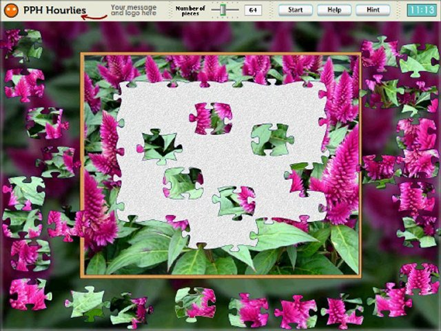 Design a customized digital jigsaw puzzle from your photo