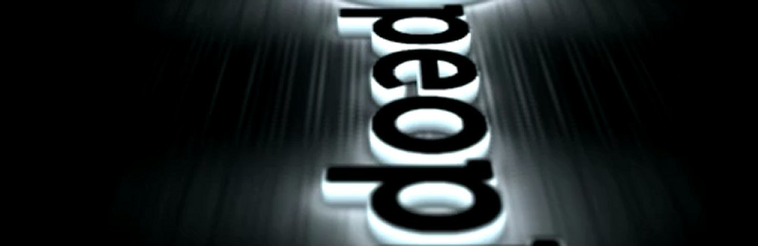 Create a glowing 3d logo animated video