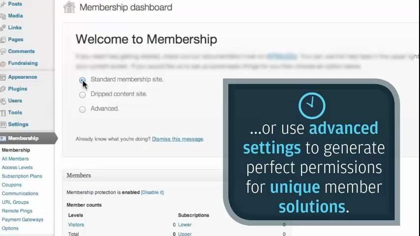 Transform your Wordpress to a cash generating machine by creating Membership site
