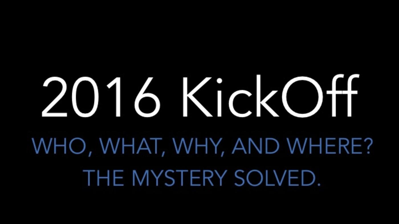 2016 LWOW ORIGINAL KICKOFF