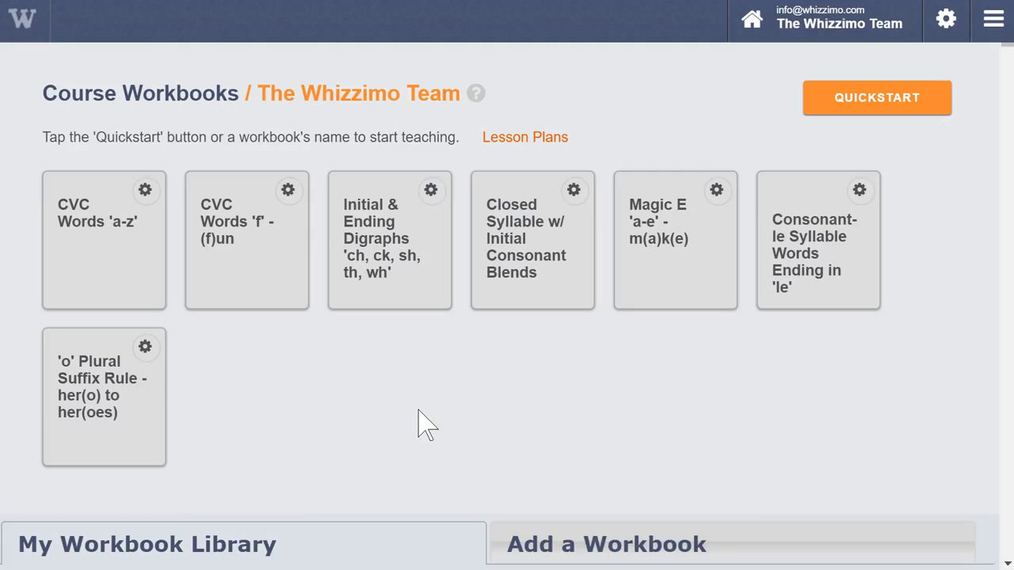 1.02 The Whizzimo Homepage