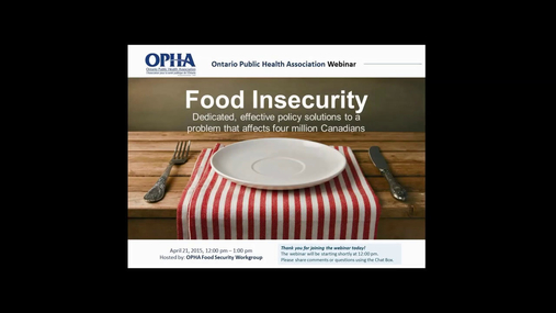 Food insecurity  - policy solutions .mp4