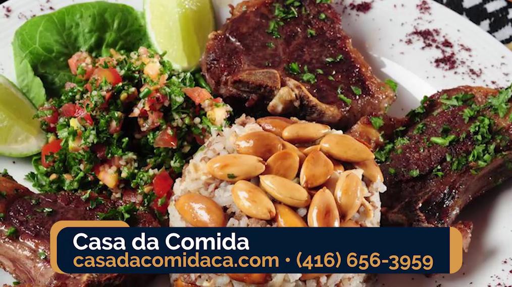 Portuguese Food in Toronto ON, Casa da Comida