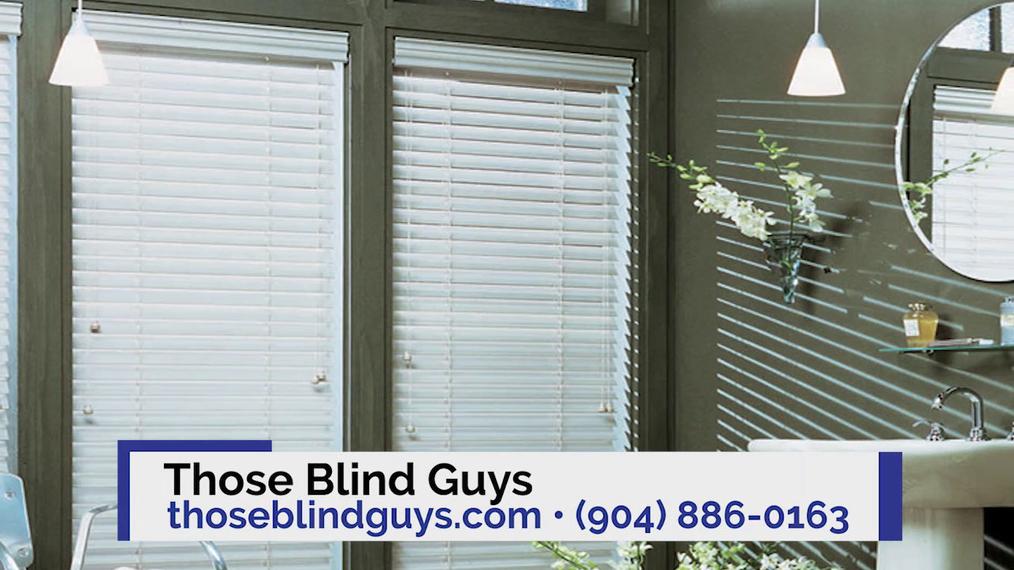 Window Treatments in Jacksonville FL, Those Blind Guys