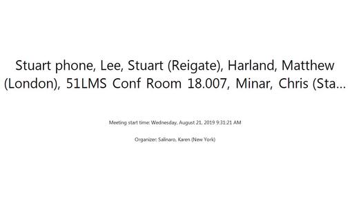Stuart phone, Lee, Stuart (Reigate), . . . - Wednesday, August 21, 2019 9.31.21 AM.mp4