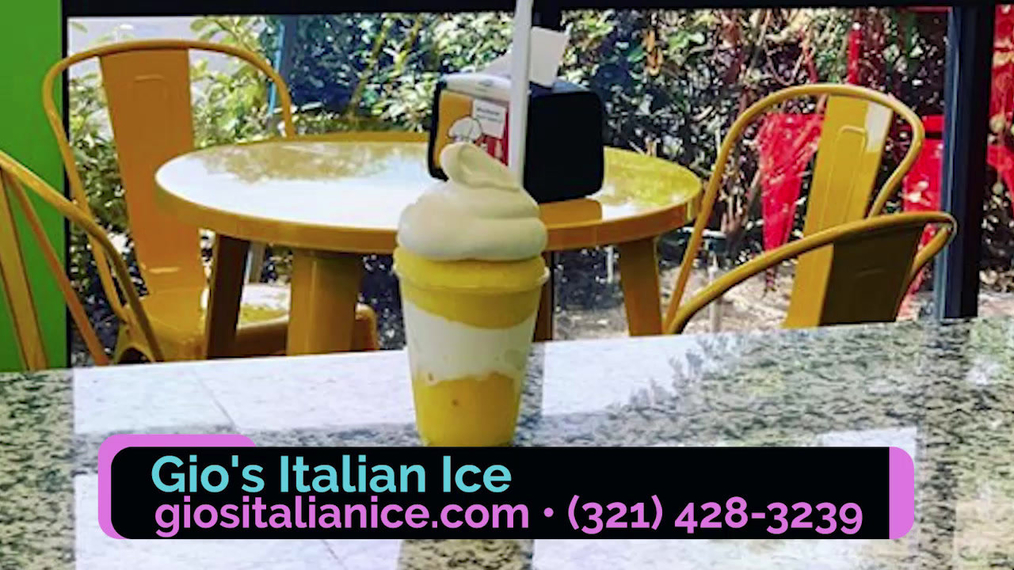 Ice Cream Shop in Melbourne FL, Gio's Italian Ice