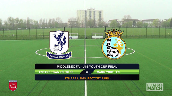Middlesex FA U15 Cup Final - Enfield Town v Magix Youth EXTENDED HIGHLIGHTS WITH COMMS 7APR19.mp4
