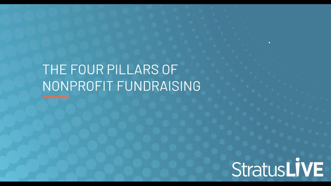 The Four Pillars of Great Non-Profit Fundraising