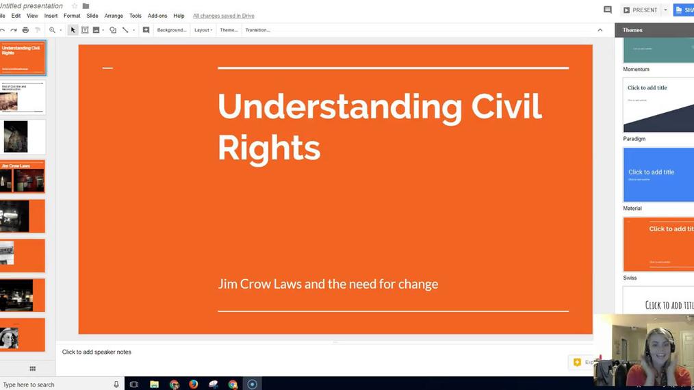 Understanding Civil Rights (Jim Crow Laws)