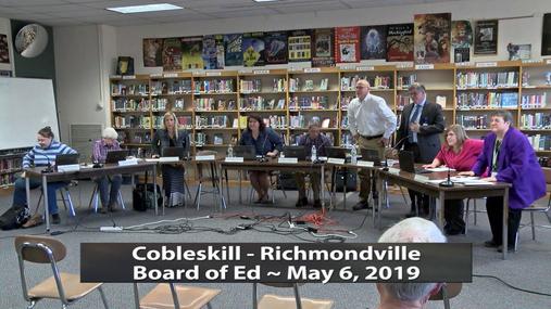 CRCS BOE -- May 6, 2019