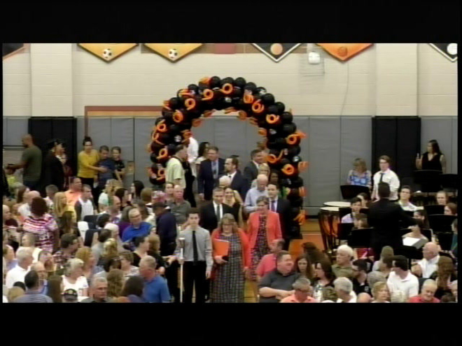 Belchertown High School Graduation 06-01-2019 part 1