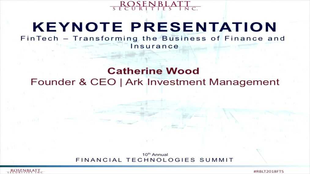 Keynote Address - FinTech - Transforming the Business of Finance and Insurance.mp4
