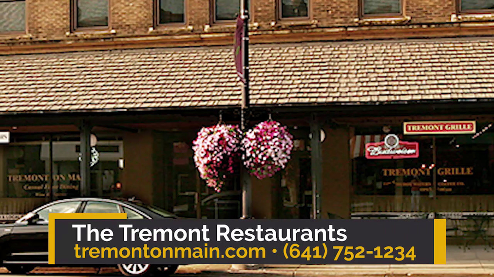 New American Restaurant in Marshalltown IA, The Tremont Restaurants