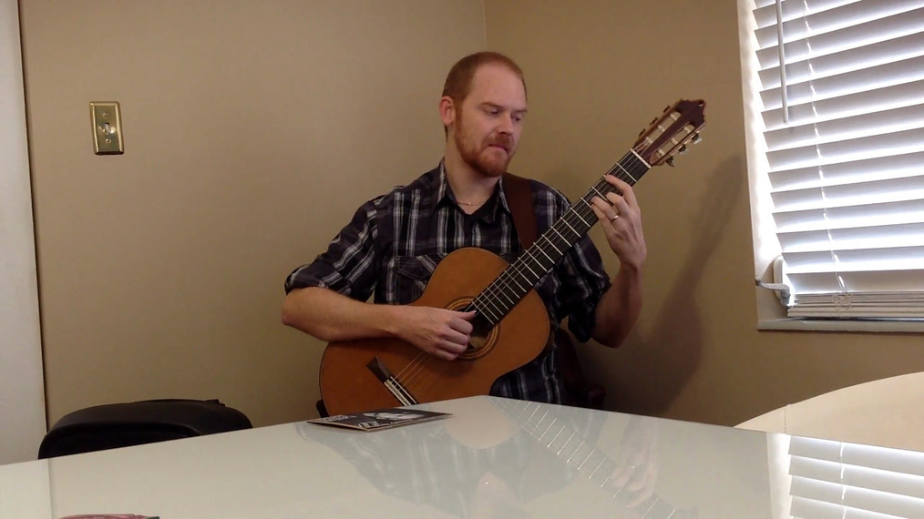 Guitarist J.M.