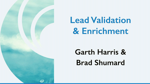 Lead Validation and Enrichment