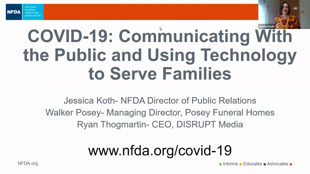 COVID-19: Communicating with the Public and Using Technology to Serve Families