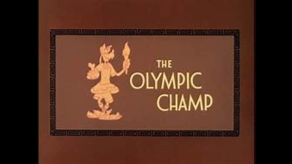 Goofy THE OLYMPIC CHAMP