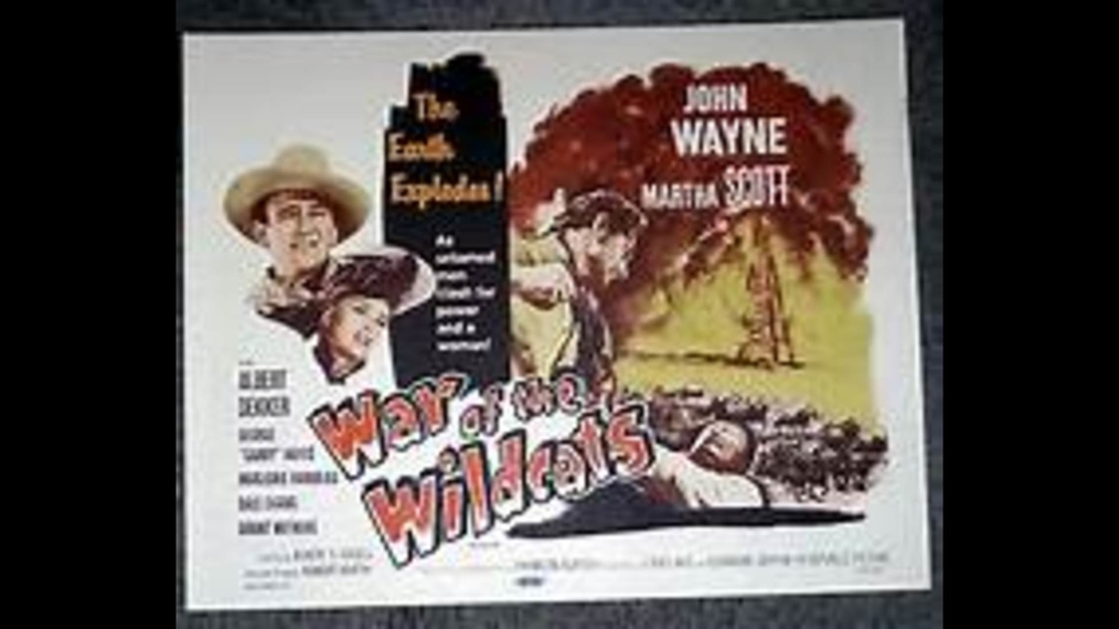 John Wayne - War of the Wildcats - restored by VRB (Western 1943)