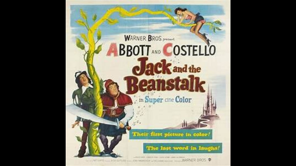 Jack and the Beanstalk - Abbott and Costello - Color HD - (Comedy)