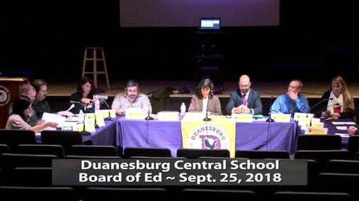 DCS BOE -- Sept.25,2018