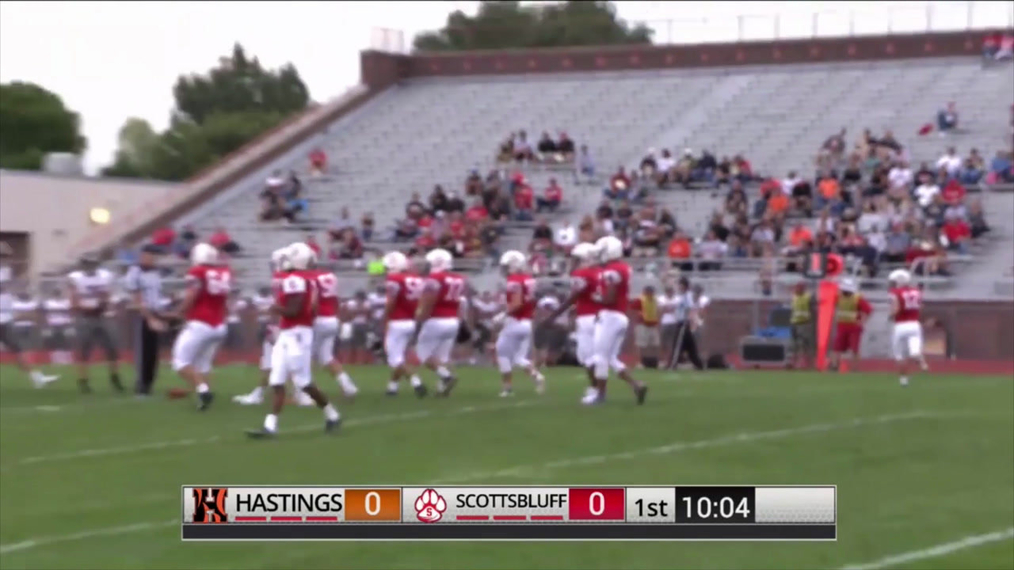 Hastings at Scottsbluff Football Highlights