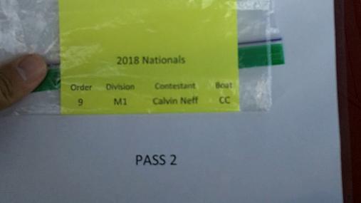 Calvin Neff M1 Round 1 Pass 2