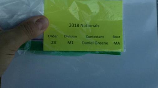 Daniel Greene M1 Round 1 Pass 2