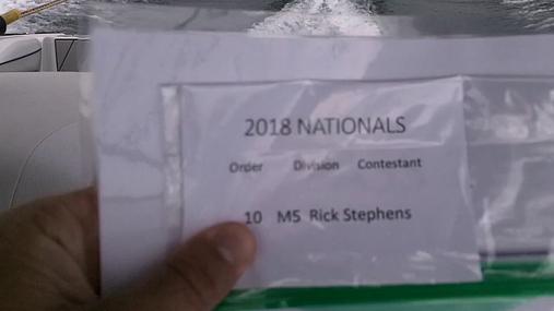 Rick Stephens M5 Round 1 Pass 2