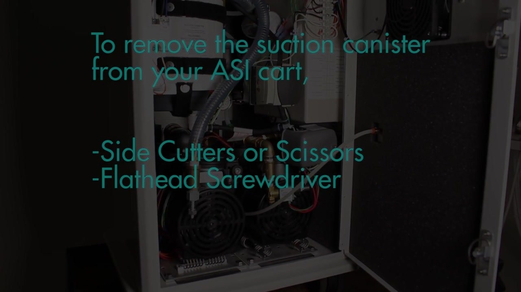 How to Remove/Replace the ASI Suction Canister [66-4011]