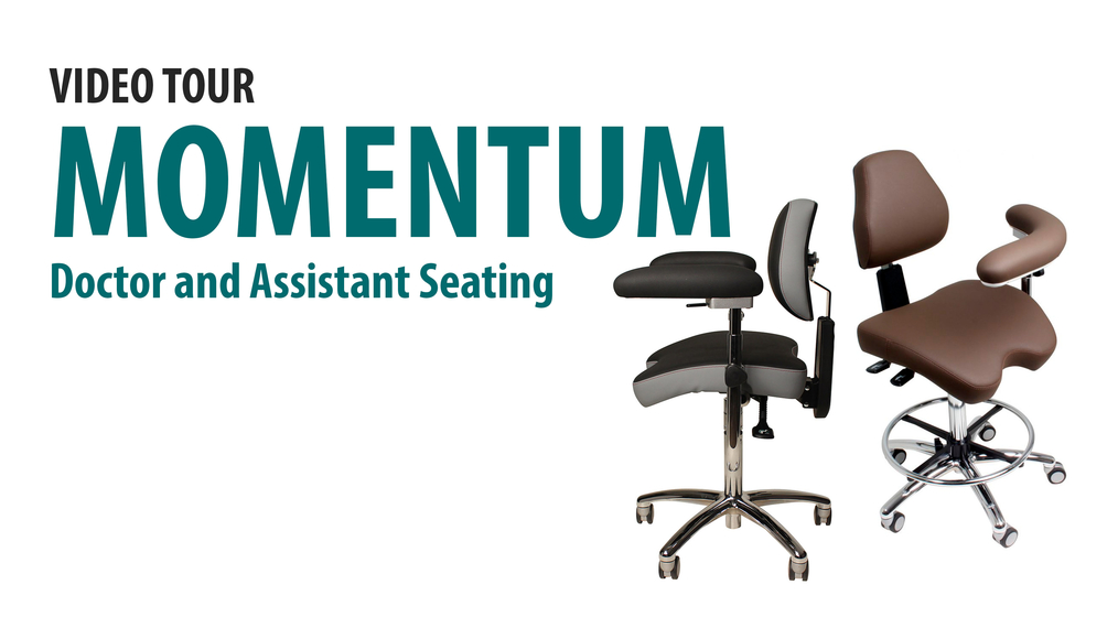 Momentum Seating: Doctor's and Assistant's Chairs [66-1009]