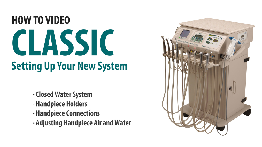 Prep the ASI Classic Cart for Streamlined Use [66-7000]