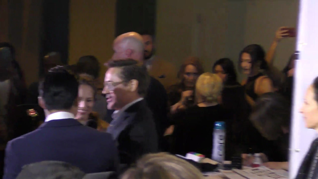 Robert Downey Jr and Susan Downey at the 4th Annual Wishing Well Winter Gala at Hollywood Palladium in Hollywood.mp4