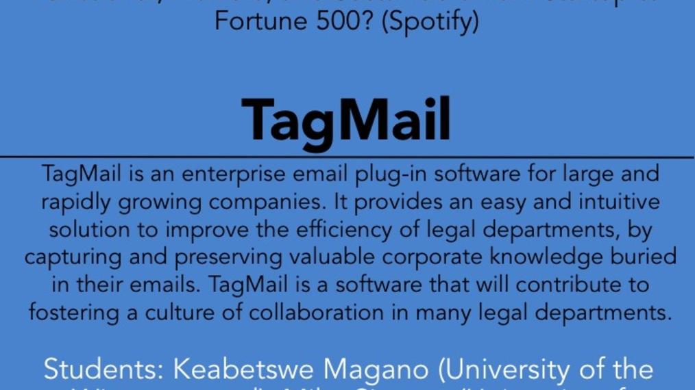 2017 LWOW O POW: TagMail