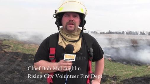 Ag News & Rising City Fire Dept CRP Burn