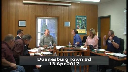 Duanesburg Town Bd __ 13 Apr2017