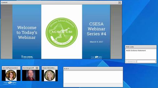 CSESA Webinar Series-March 16, 2017