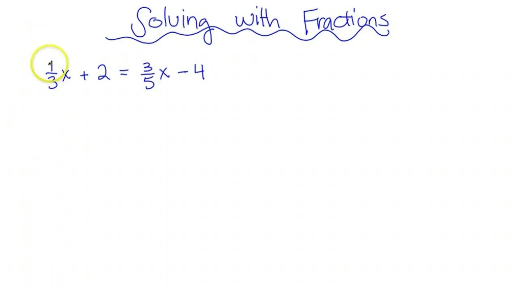 SMI Solving with Fractions