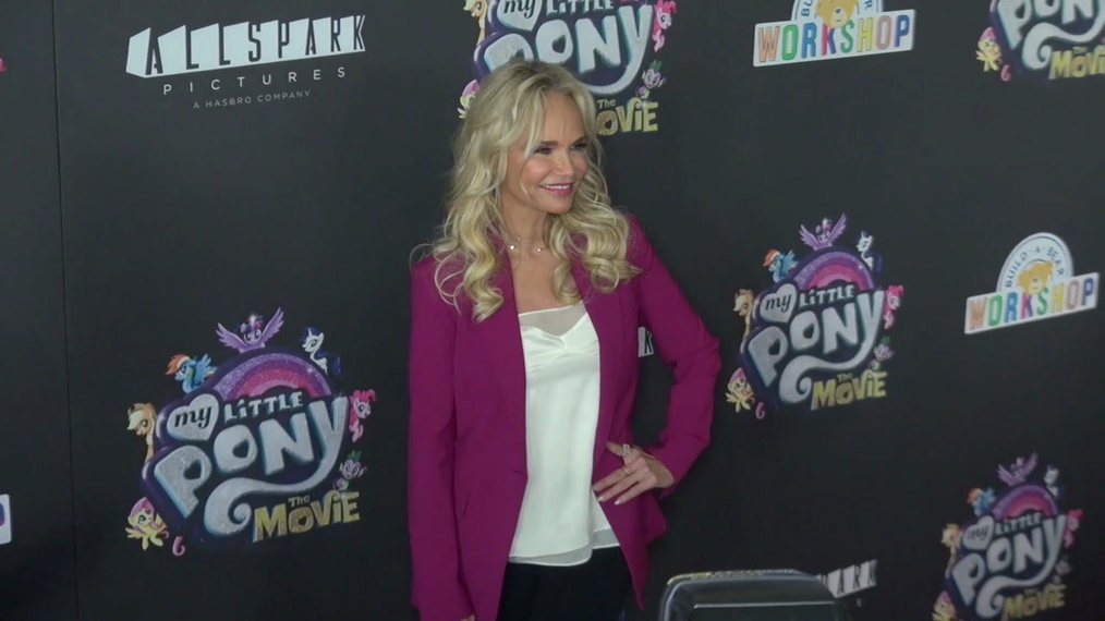 Kristin Cheoweth at the My Little Pont The Movie Premiere at AMC Lincoln Square Theater in New York.mp4