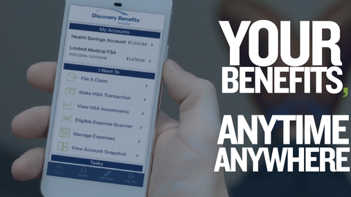 The Discovery Benefits Mobile App - Making Benefits Management Easy