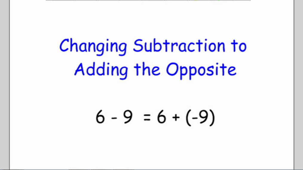 Change Subtract to Add Opposite.mp4
