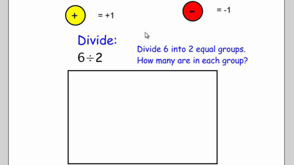 Divide Integers with Counters.mp4