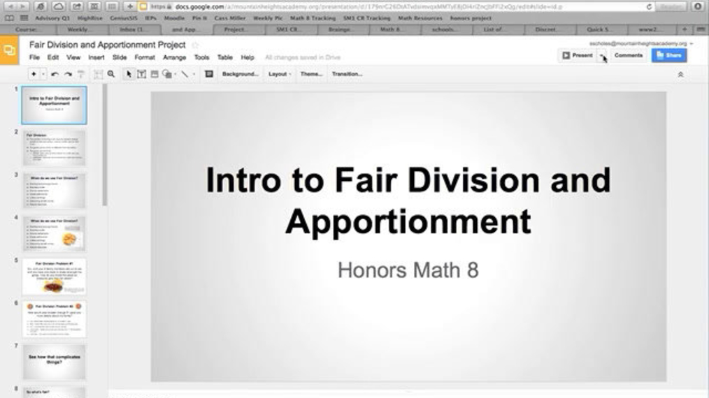 Fair Division and Apportionment Project.mp4