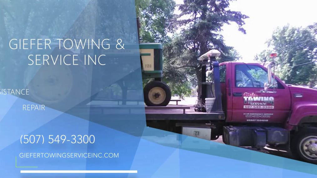 Towing in Vernon Center MN, Giefer Towing & Service Inc