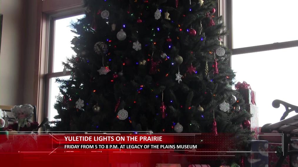Yultide Lights on the Prairie