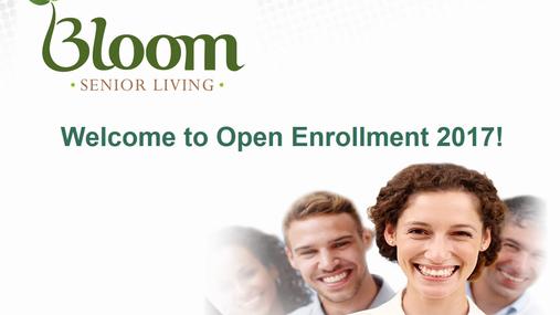 Bloom Medical Open Enrollment - October 2017.mp4