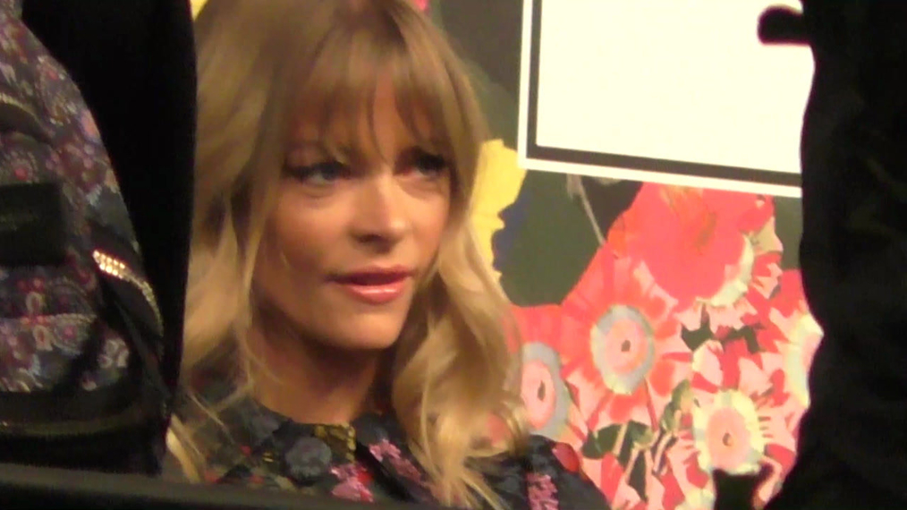 Jamie King outside the H&M x ERDEM Runway Show & Party at The Ebell Club in Los Angeles.mp4