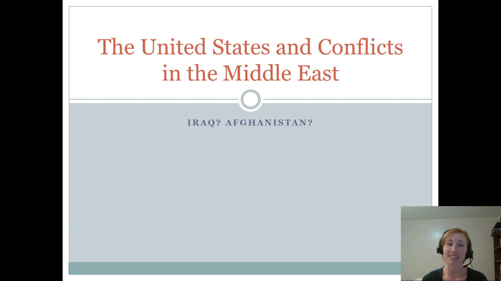 Conflicts in the Middle East Iraq and Afghanistan