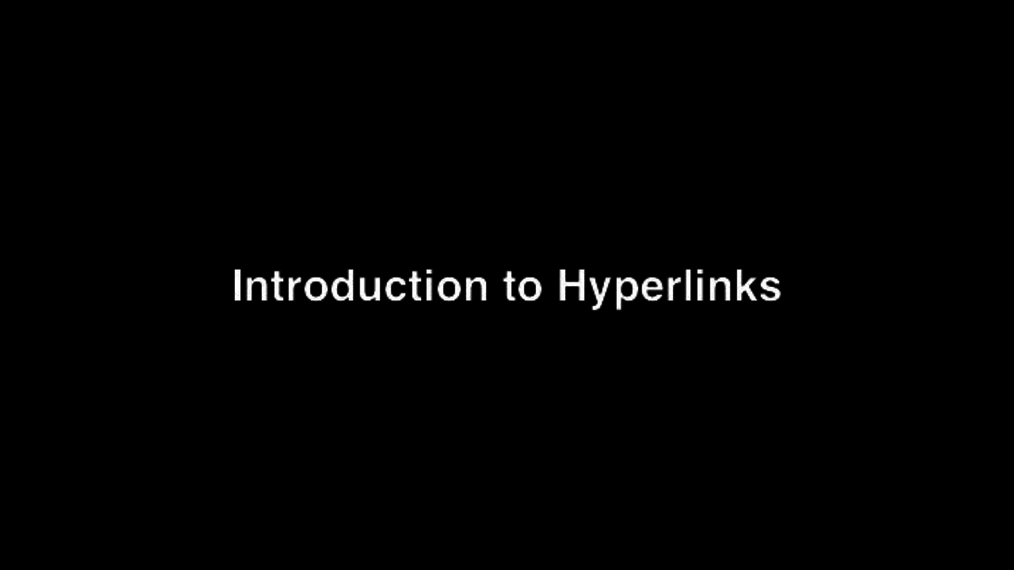 Introduction to Hyperlinks.mp4