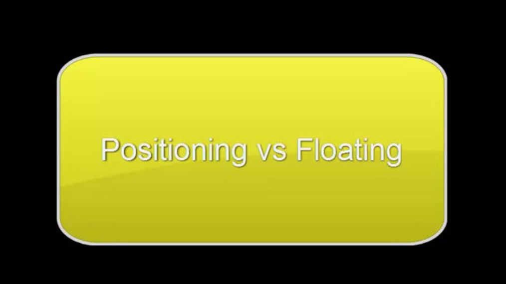 CSS Positioning vs Floats.mp4