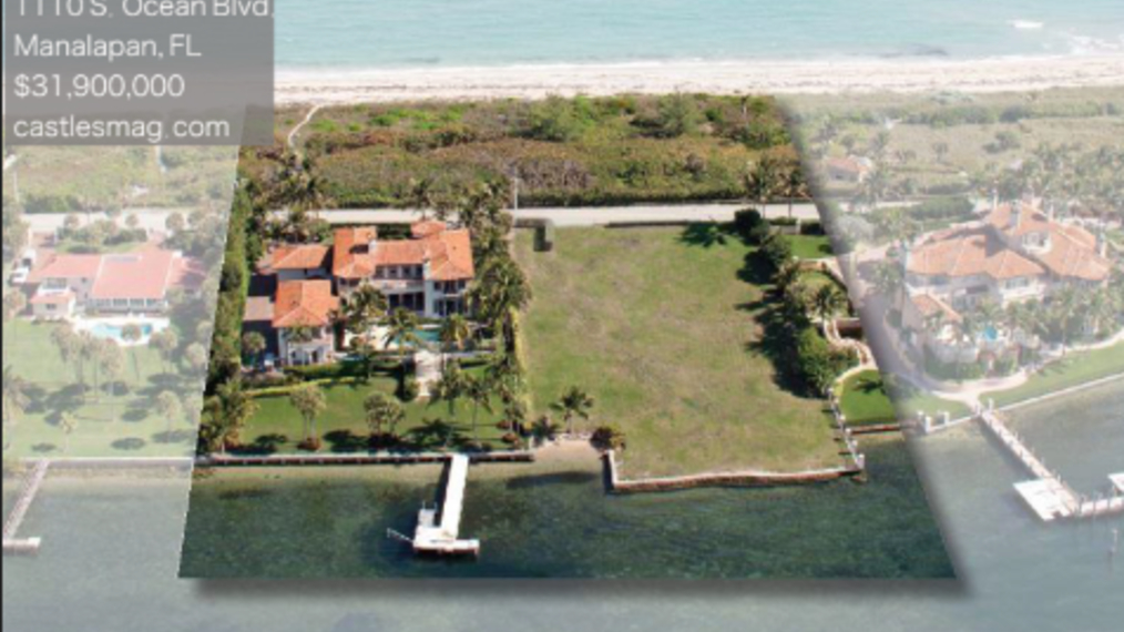 Billy Joel's Manalapan Mansion